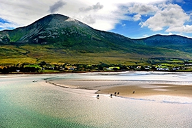 Go trekking horse riding and leisure centre offers a range of mountain trails and beach treks along the stunning west coast of Ireland.